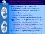 what could be the role of governments in fostering e government deployment and use