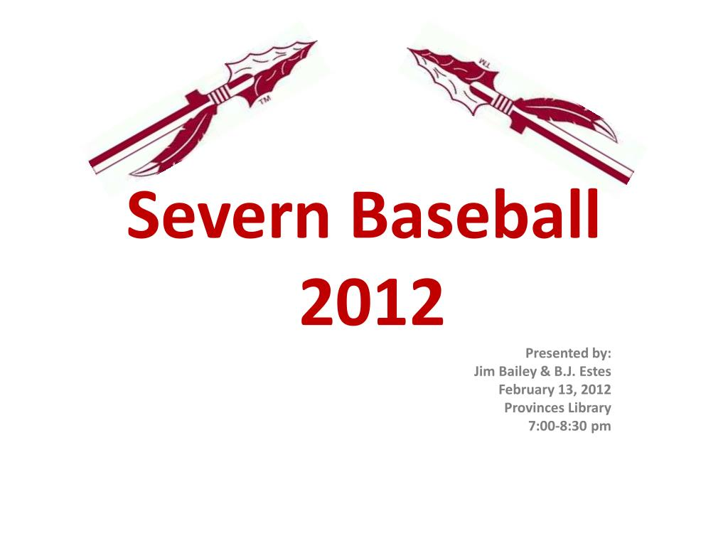 severn baseball 2012 l.