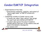 condor dmtcp integration