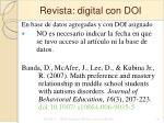 revista digital con doi38