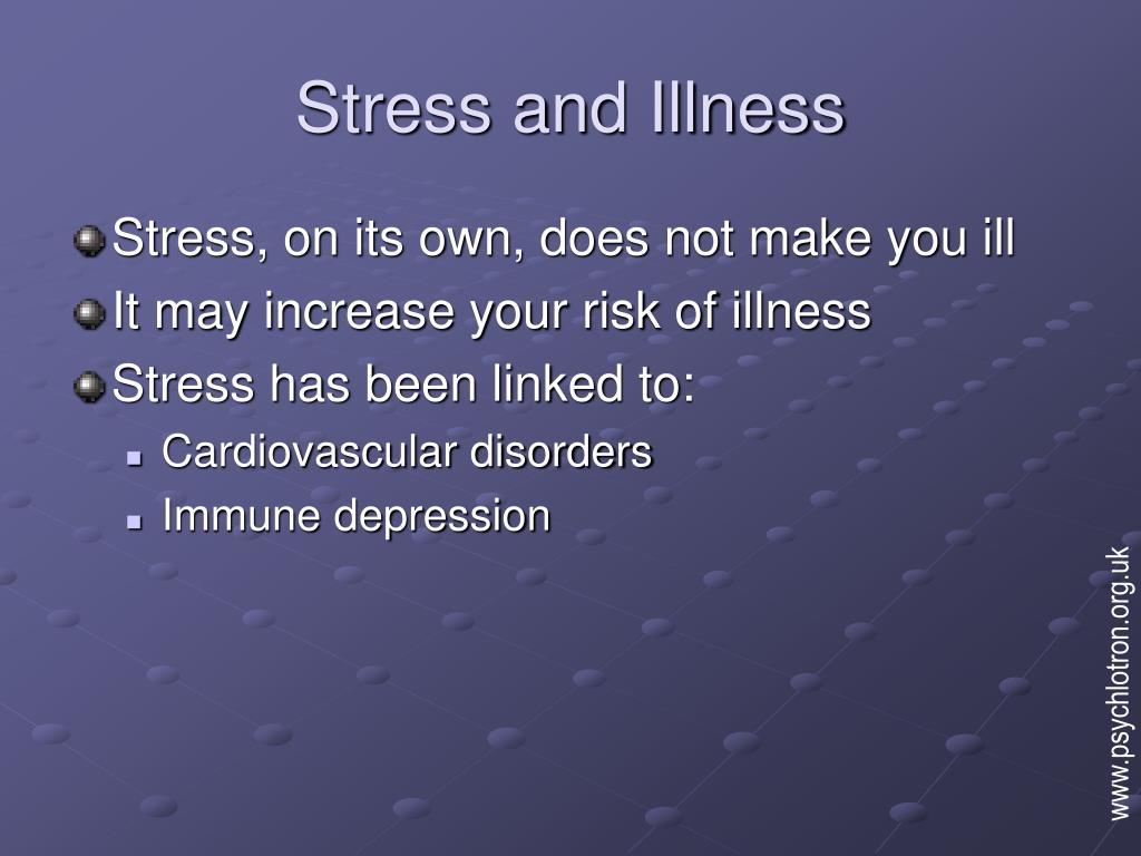 stress and illness l.