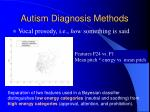 autism diagnosis methods23