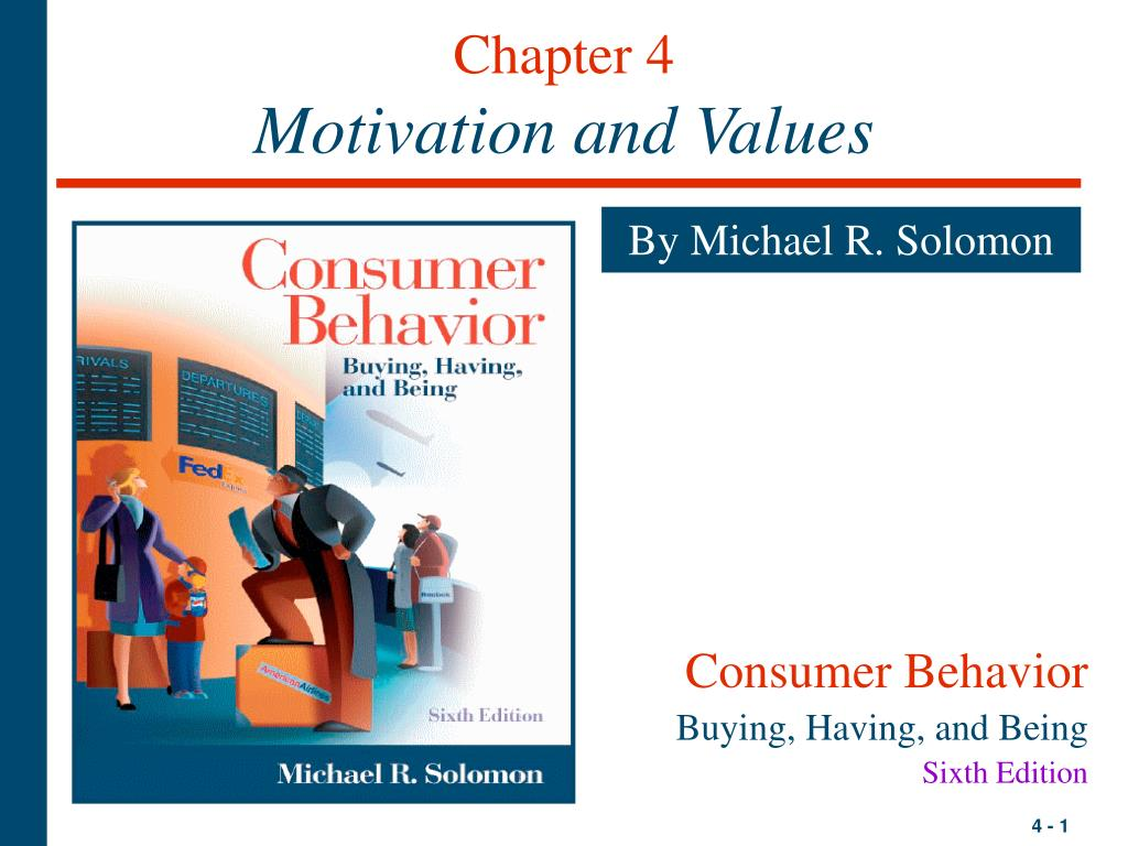 chapter 4 motivation and values l.