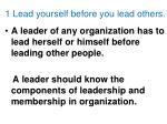 1 lead yourself before you lead others
