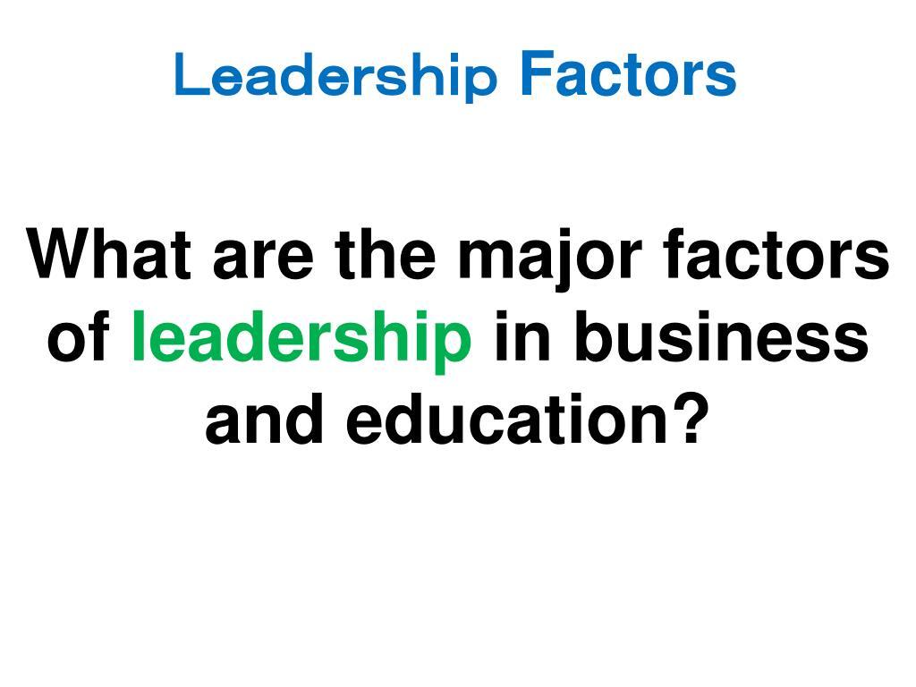 factors l.