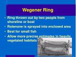 wegener ring