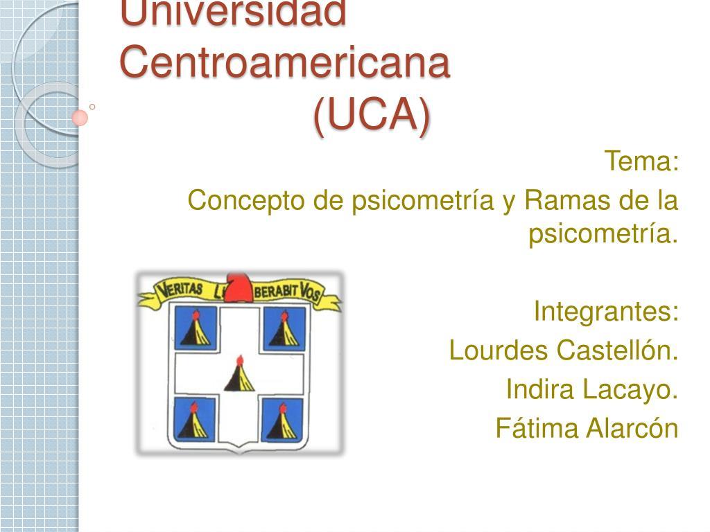 universidad centroamericana uca l.