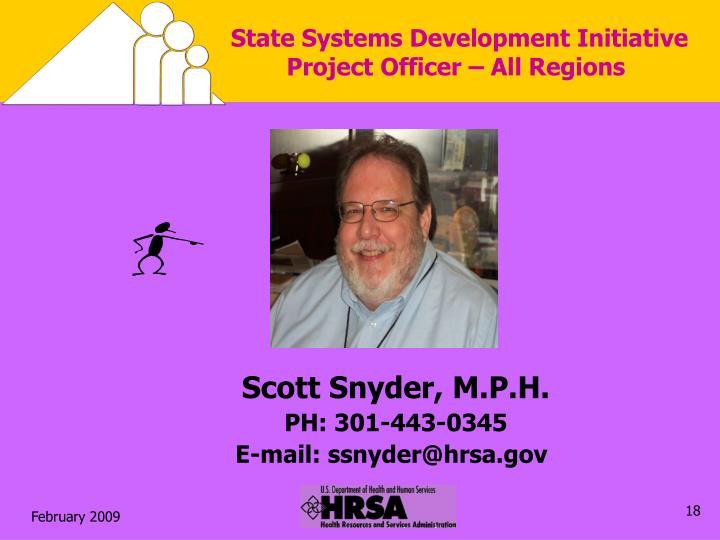 State Systems Development Initiative