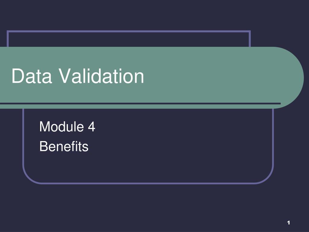 data validation l.