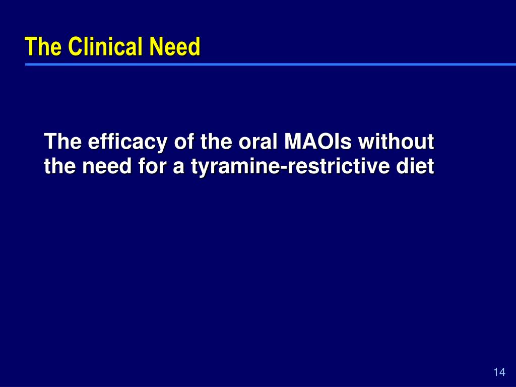 The Clinical Need