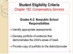 student eligibility criteria chapter 192 compensatory services17