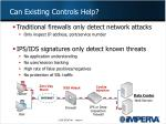 can existing controls help