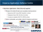 imperva application defence centre