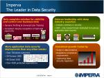 imperva the leader in data security