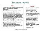 stevenson wydler