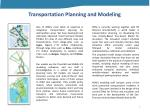 transportation planning and modeling