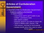 articles of confederation government10