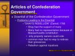 articles of confederation government11