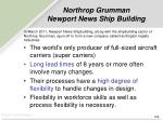northrop grumman newport news ship building