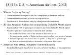 8 16 u s v american airlines 2002