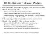 8 21 red lion v ohmeda practices