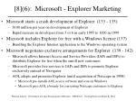 8 6 microsoft explorer marketing