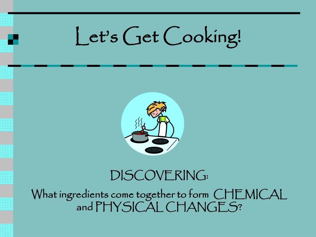 let s get cooking l.