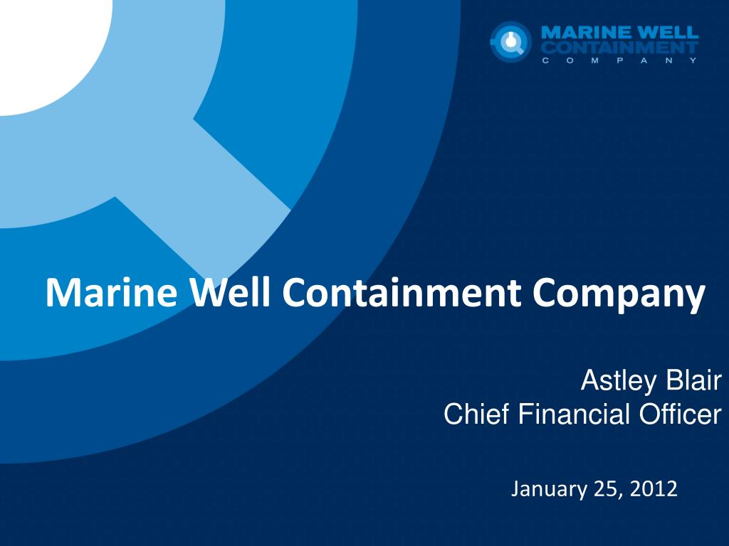marine well containment company l.