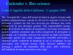 curlender v bio science