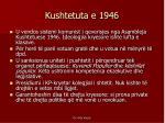 kushtetuta e 1946