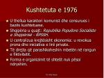 kushtetuta e 1976