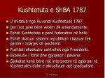 kushtetuta e shba 1787