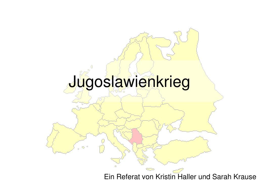 jugoslawienkrieg l.