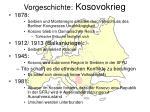vorgeschichte kosovokrieg