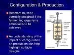 configuration production