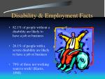 disability employment facts