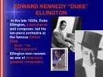 edward kennedy duke ellington