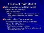 the great bull market