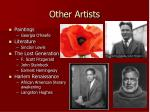 other artists