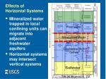 effects of horizontal systems