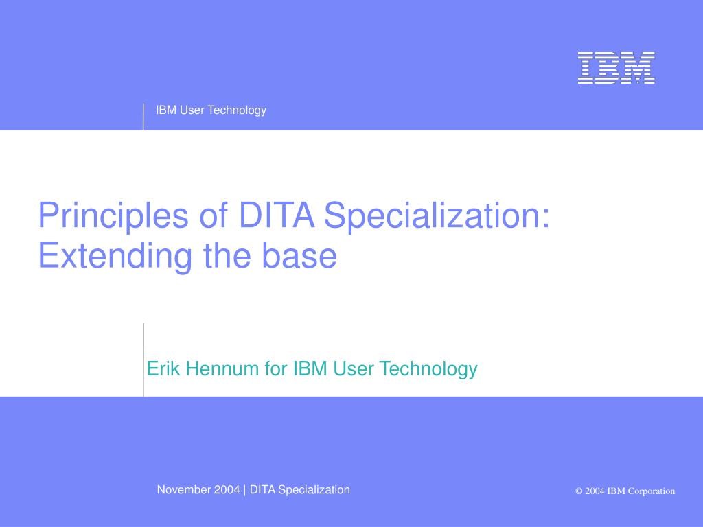 erik hennum for ibm user technology l.