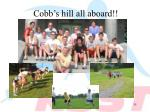 cobb s hill all aboard