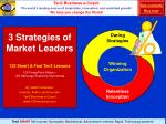 3 strategies of market leaders