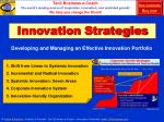 innovation strategies