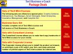 ten3 business e coach package deals
