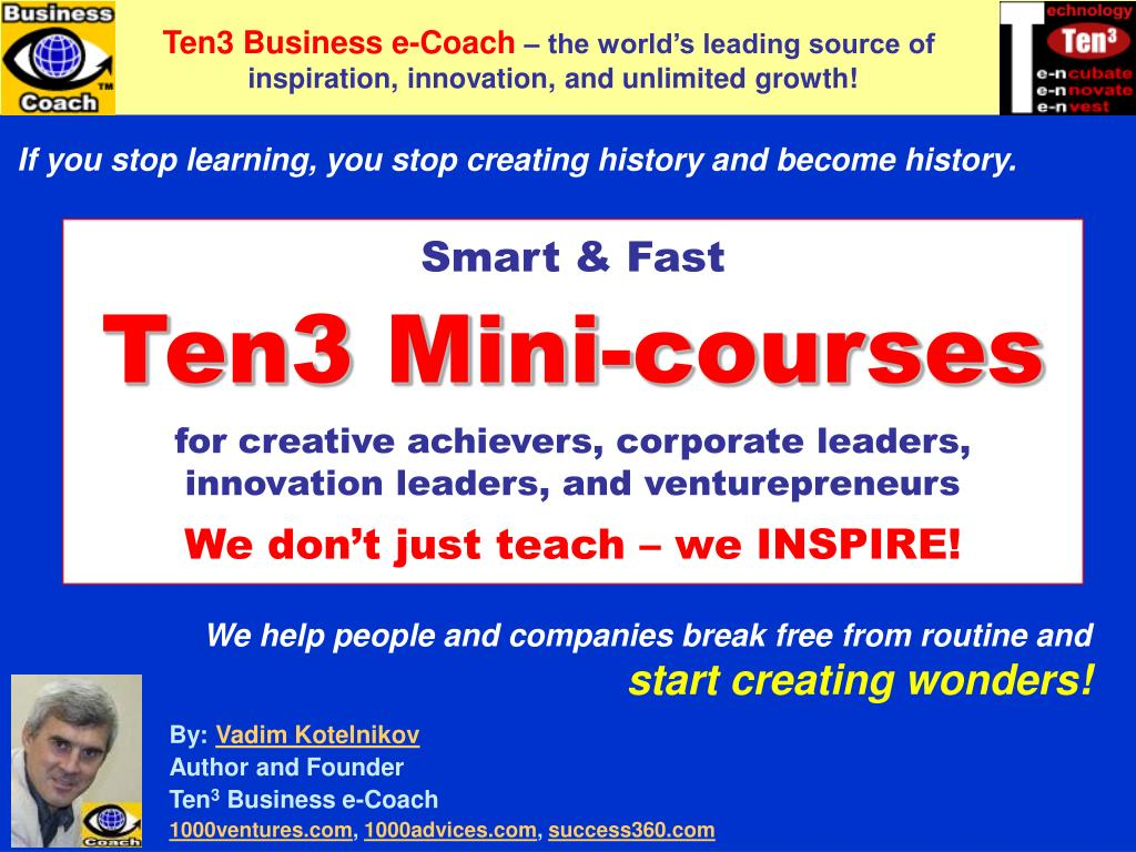 ten3 mini courses l.