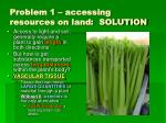 problem 1 accessing resources on land solution16