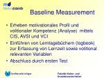 baseline measurement