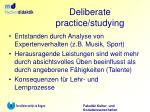 deliberate practice studying