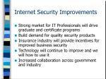 internet security improvements